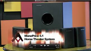 Home Theater Speakers Review by Monoprice 5 1 Home Theater Speakers U0026 Subwoofer Review Audioholics