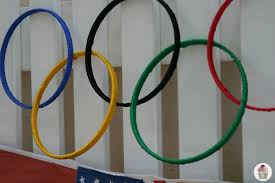 Olympic Themed Decorations Olympic Crafts Activities And Game Ideas The Idea Room