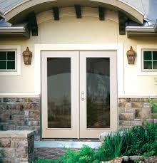 Outswing Patio Door by Patio Doors Outswing French Patio Doors With Blinds Anderson Inch