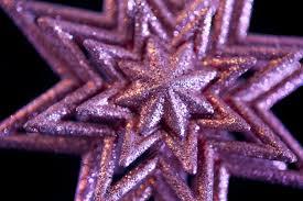 photo of pink christmas star free christmas images