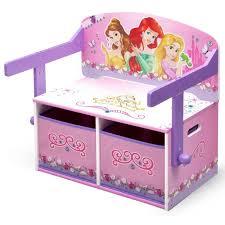 bureau enfant princesse disney princesses bureau banc enfant convertible avec rangements