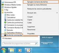 bureau disparu windows 7 windows 7 gérer les programmes sur la barre des tâches