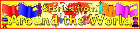 stories from around the world display banner sb4045 sparklebox