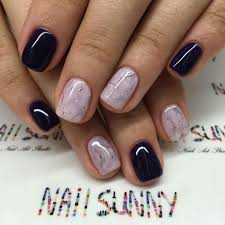 in love with these marble nails how did they do these gel nail