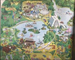 Walt Disney World Maps by The Story Of Walt Disney World Book Coaster101