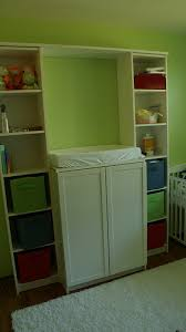 Tall Billy Bookcase What A Great Idea Changing Table Made Out Of Ikea Billy Bookcases