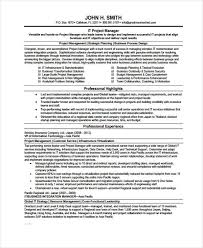 Sample Format Of A Resume by 9 Management Resume Templates Free Sample Example Format