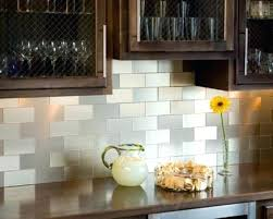 Kitchen Peel And Stick Backsplash Self Adhesive Backsplash Tiles Custom Images Of Self Stick Kitchen
