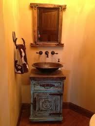 western bathroom ideas western bathroom designs nightstand turned into vanity and bowl