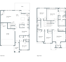 Floor Plan And Elevation Drawings by Concord Floor Plans Bethany Or Arbor Homes