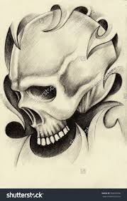 skull drawing sketch by pencil photo drawing of sketch
