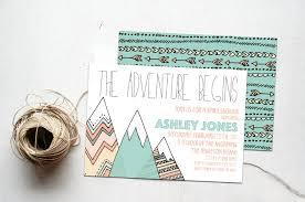 the adventure begins baby shower invitation printable little