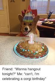 Corgi Birthday Meme - 25 best memes about corgi birthday corgi birthday memes
