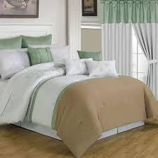Complete Bedroom Sets Lavish Home Elizabeth Tan 25 Piece King Comforter Set 66 00007