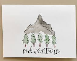 handmade watercolor cards watercolor cards handmade etsy