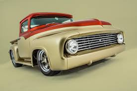 Vintage Ford Truck Fabric - this owner built 1956 ford f 100 packs an unexpected engine