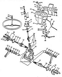 steering gear parts for ford 8n tractors asn 216988