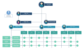 Template Organizational Chart by Org Chart Software To Create Organization Charts Creately