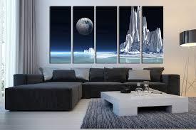 living room canvas 5 piece canvas photography landscape huge pictures white large