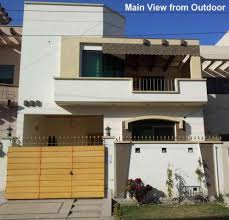 3d Home Design 5 Marla 5 Marla Double Story New Home In The Community Of Valencia Lahore