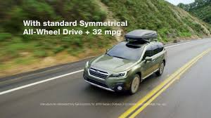 green subaru outback the newly redesigned 2018 subaru outback youtube