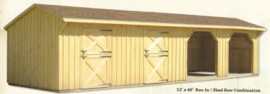 Shed Row Barns For Sale Portable Wood Horse Barns