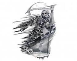 grim reaper tattoo u2013 words n grim reaper design tattooshunter com