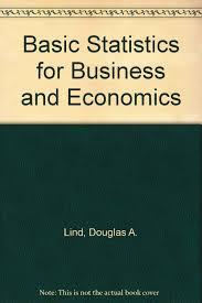 basic statistics for business and economics douglas a lind