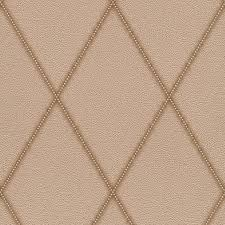 contemporary faux leather jeweled diamond wallpaper r3686