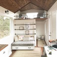 small guest house floor plans white tiny house loft with bedroom guest bed storage and