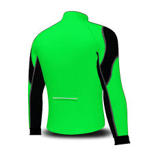 green cycling jacket wind stoper road bike bicycle cycling jacket top thermal full