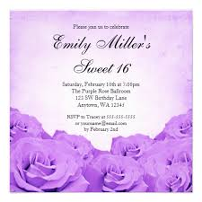 personalized rose sweet 16 party invitations custominvitations4u com