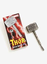 marvel thor hammer bottle opener boxlunch