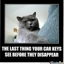 Car Keys Meme - the last thing your car keys see before they disappear by sarah