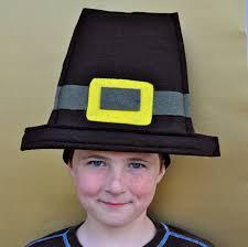boy s thanksgiving pilgrim hat make lovely