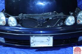 lexus gs300 blue toyota aristo lexus gs300 gs400 front end conversion nose cut