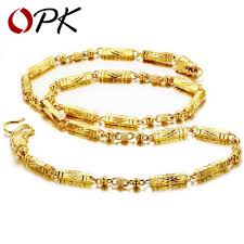 necklace gold chain design images Jewellery top quality gold plated necklace chain cool design jpg