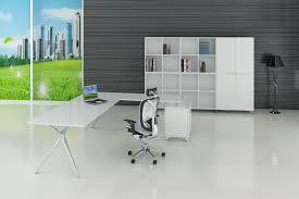 mobilier de bureau grenoble mobilier direction à duo blanc et aluminium bureaux