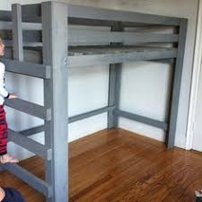 Ana White Camp Loft Bed With Stair Junior Height Diy Projects by Ana White Build A Camp Loft Bed With Stair Junior Height Free