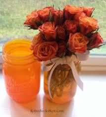 How To Paint Inside Glass Vases Tinted Mason Jars With Glass Paint U2026 U2013 Robin U0027s Nest