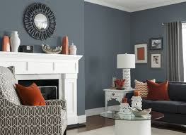 Gray Sofa Decor Living Room Gray Sofa Brown Ceiling Fans White Bookcases Black