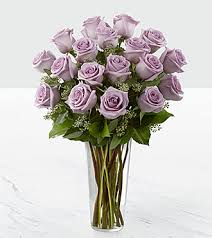 lavender roses the lavender bouquet by ftd vase included