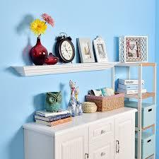 woodland home decor floating shelf amazon com welland corona crown molding floating wall photo ledge