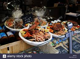 cuisiniste st malo seafood for sale at st malo in stock photo 17694002
