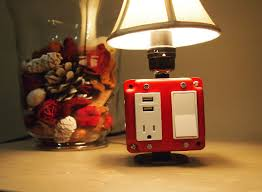 table lamp with outlet and usb best inspiration for table lamp