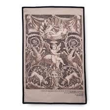putto renaissance ornament tea towel the met store