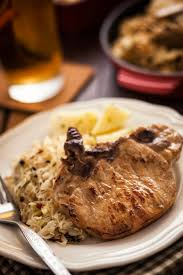 pork chop and sauerkraut bake recipe