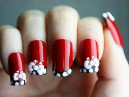 time to try 10 simple and red nails designs zestymag