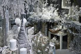 interior design awesome winter themed christmas decorations