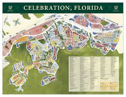 Florida Orlando Map by Celebration Fl Real Estate